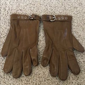Coach Leather Gloves - size 7 1/2